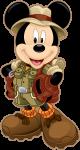 topo de bolo mickey safari 5