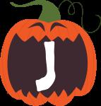 alfabeto personalizado abobora halloween 10