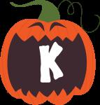 alfabeto personalizado abobora halloween 11