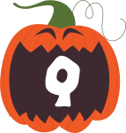 alfabeto personalizado abobora halloween 17
