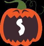 alfabeto personalizado abobora halloween 19