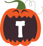 alfabeto personalizado abobora halloween 20
