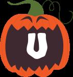 alfabeto personalizado abobora halloween 21