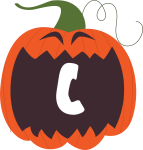 alfabeto personalizado abobora halloween 3