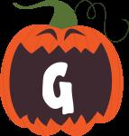 alfabeto personalizado abobora halloween 7