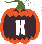 alfabeto personalizado abobora halloween 8