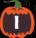 alfabeto personalizado abobora halloween 9