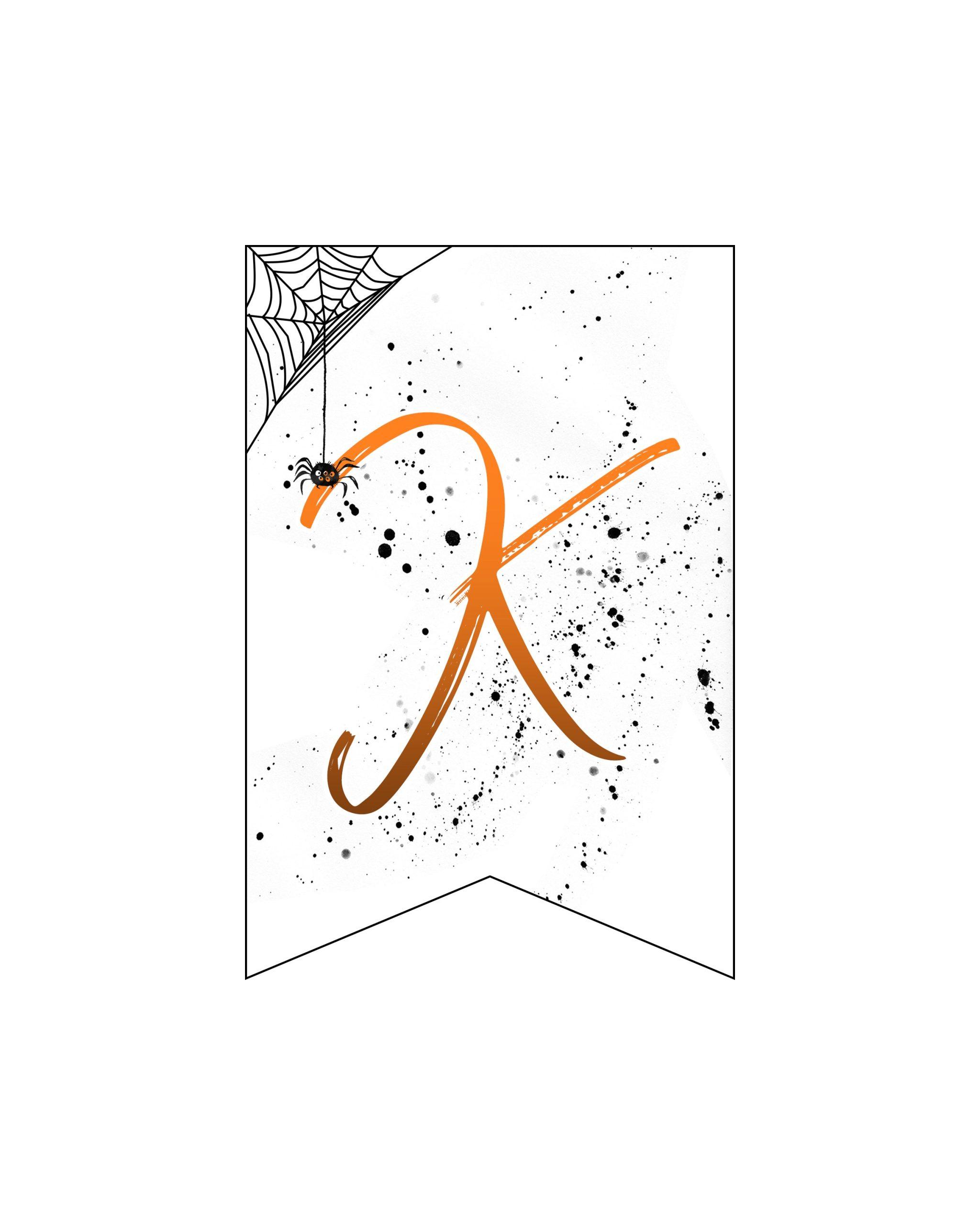 alfabeto personalizado banner halloween 11
