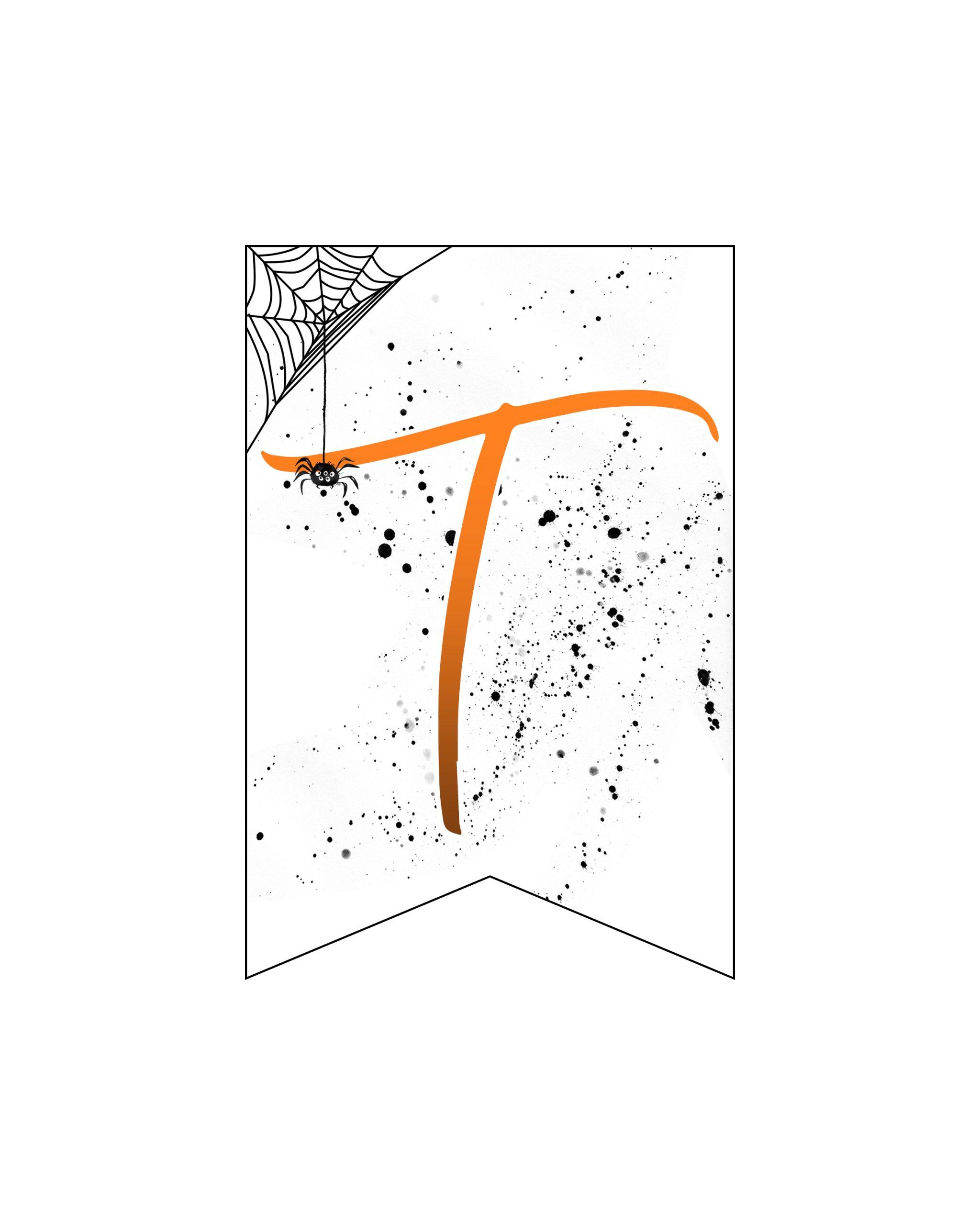 alfabeto personalizado banner halloween 20