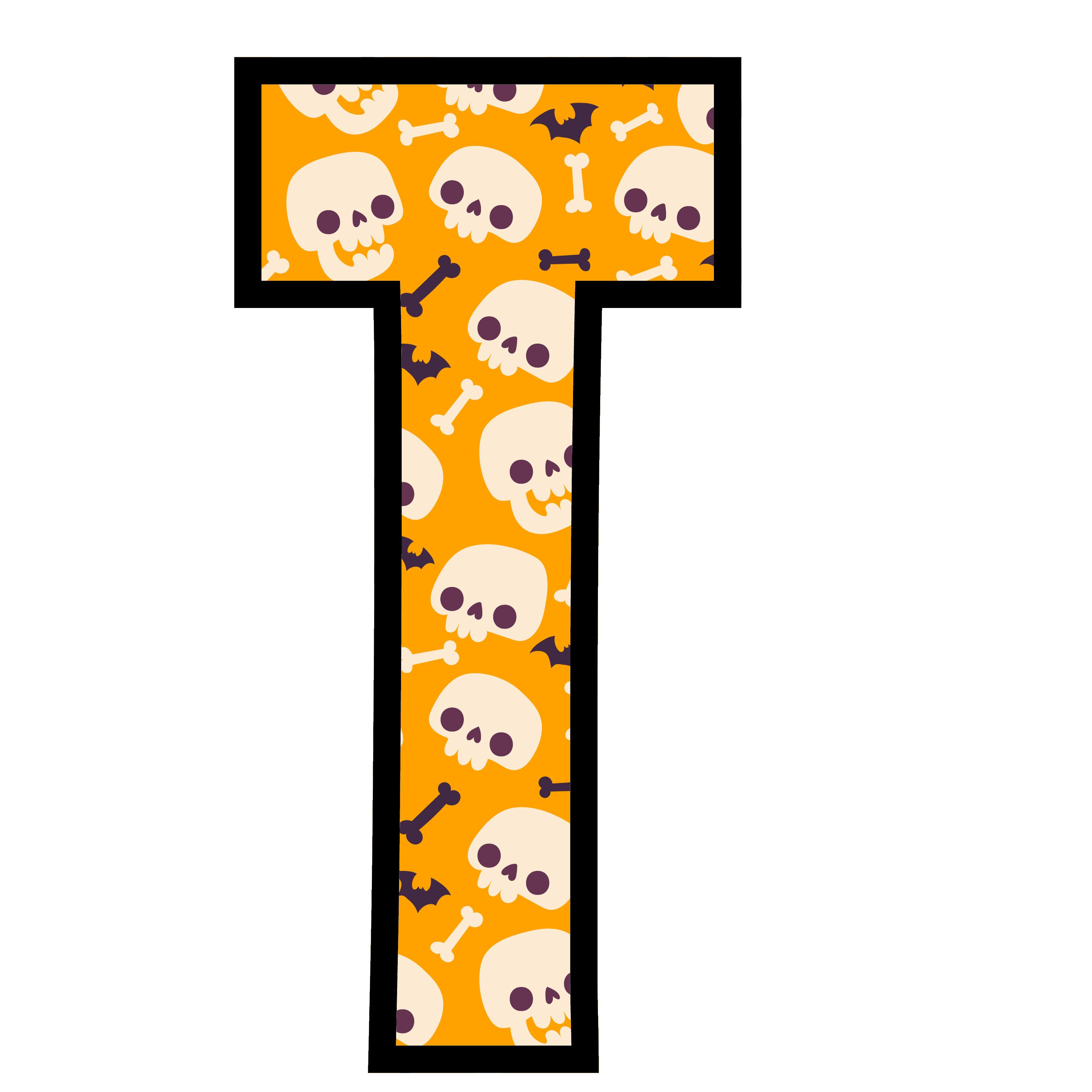 alfabeto personalizado caveiras halloween 20