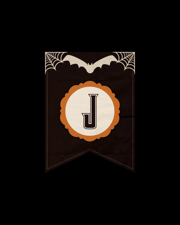 alfabeto personalizado dark halloween 10