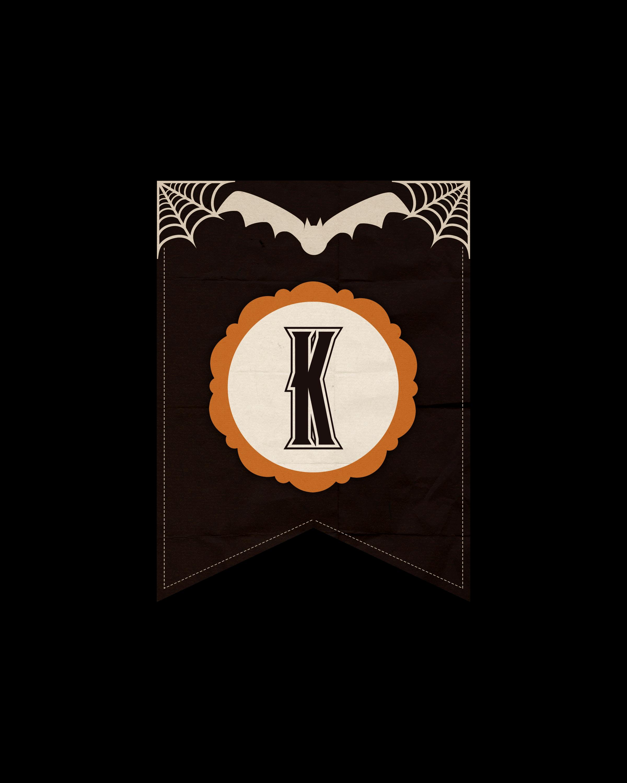 alfabeto personalizado dark halloween 11