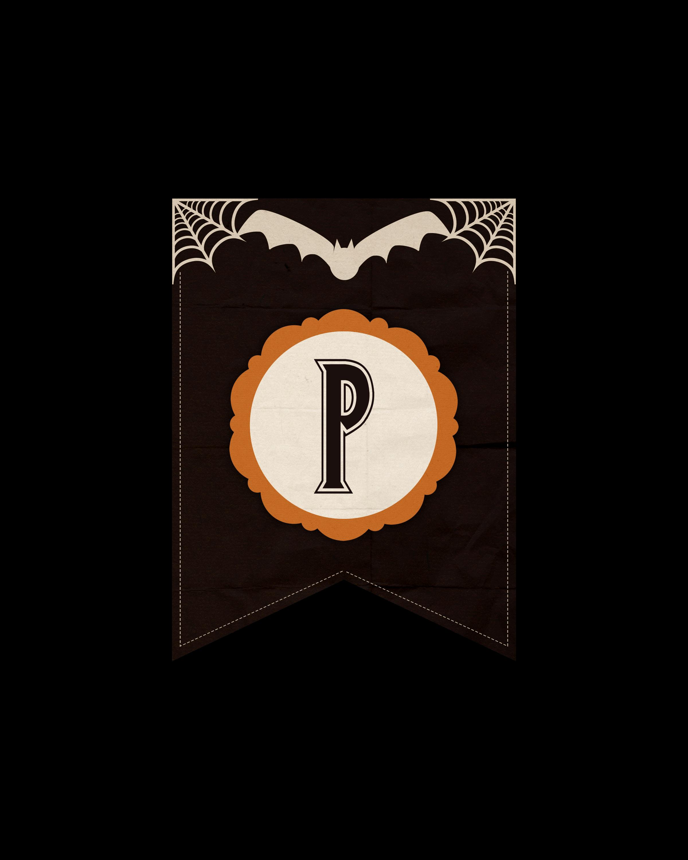 alfabeto personalizado dark halloween 16