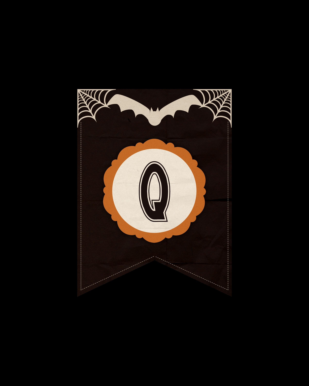 alfabeto personalizado dark halloween 17