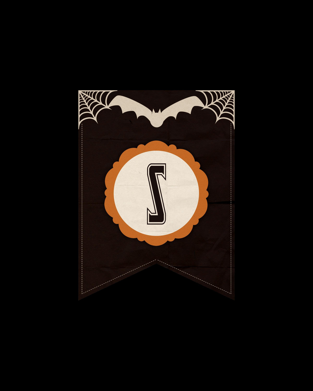 alfabeto personalizado dark halloween 19