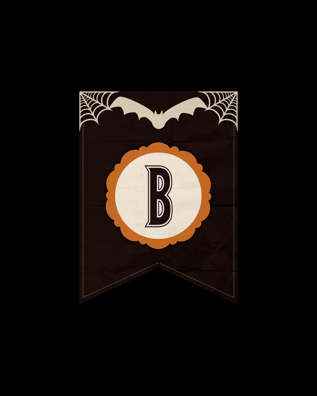 alfabeto personalizado dark halloween 2