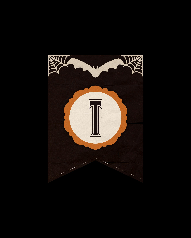 alfabeto personalizado dark halloween 20