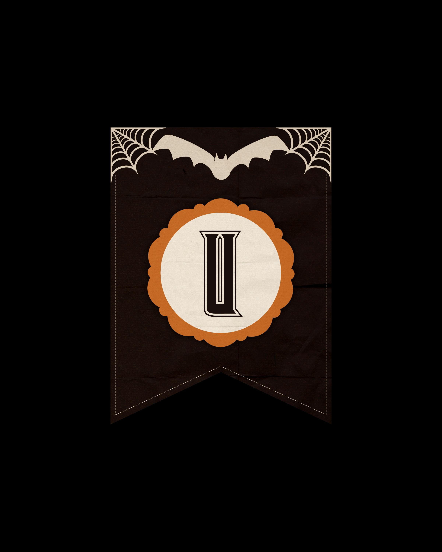 alfabeto personalizado dark halloween 21