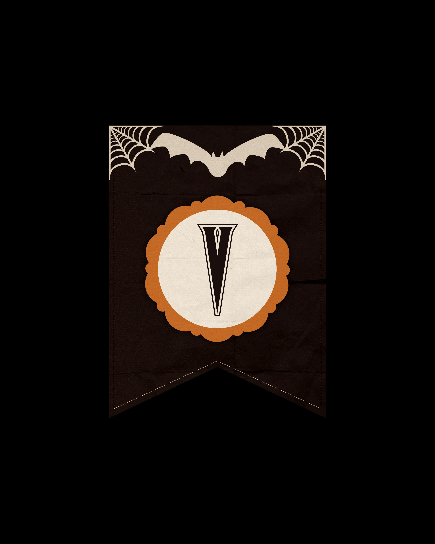 alfabeto personalizado dark halloween 22