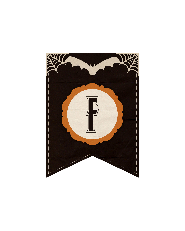 alfabeto personalizado dark halloween 6