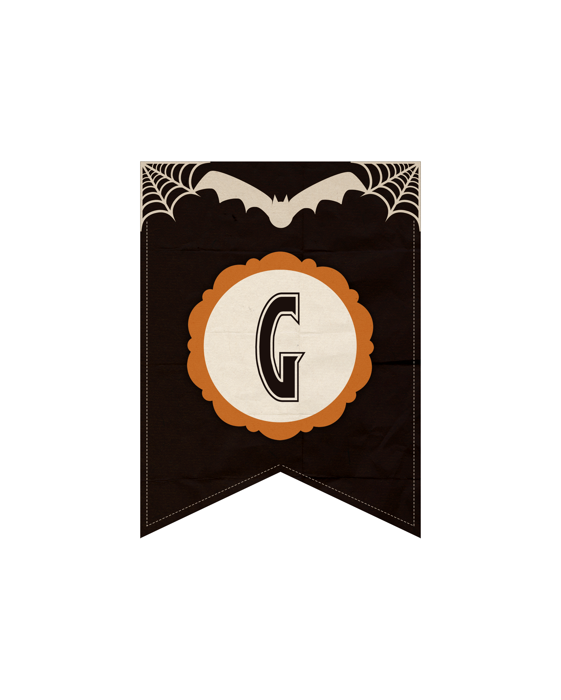 alfabeto personalizado dark halloween 7