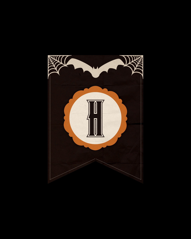 alfabeto personalizado dark halloween 8