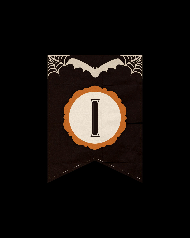 alfabeto personalizado dark halloween 9