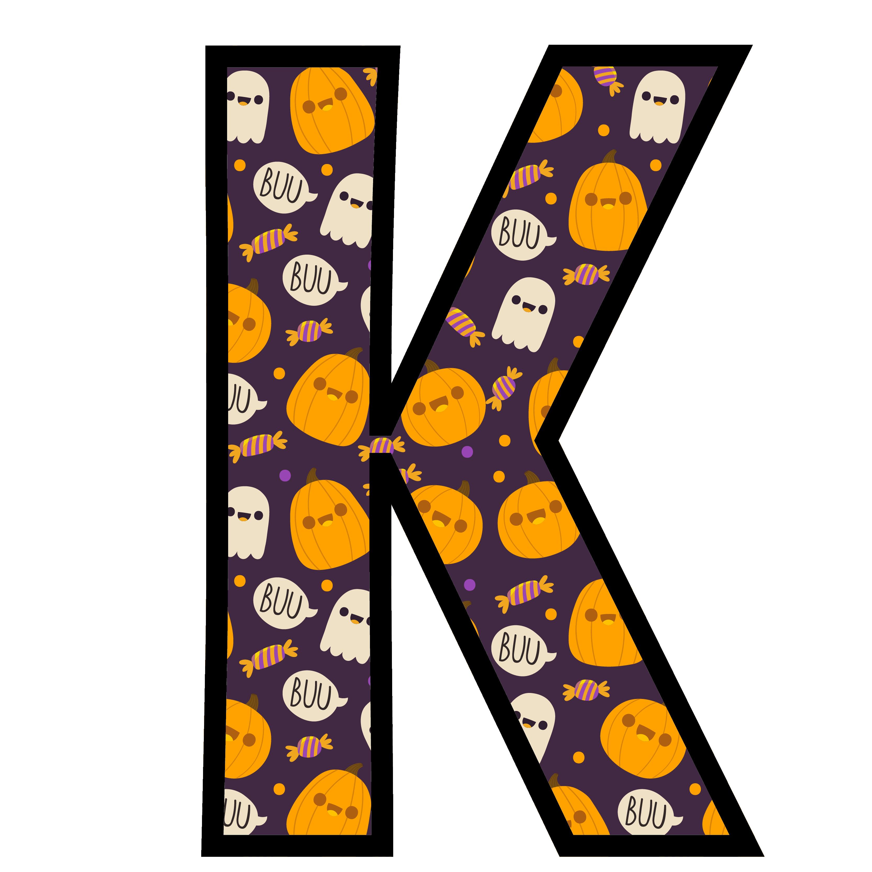 alfabeto personalizado fantasma halloween 11