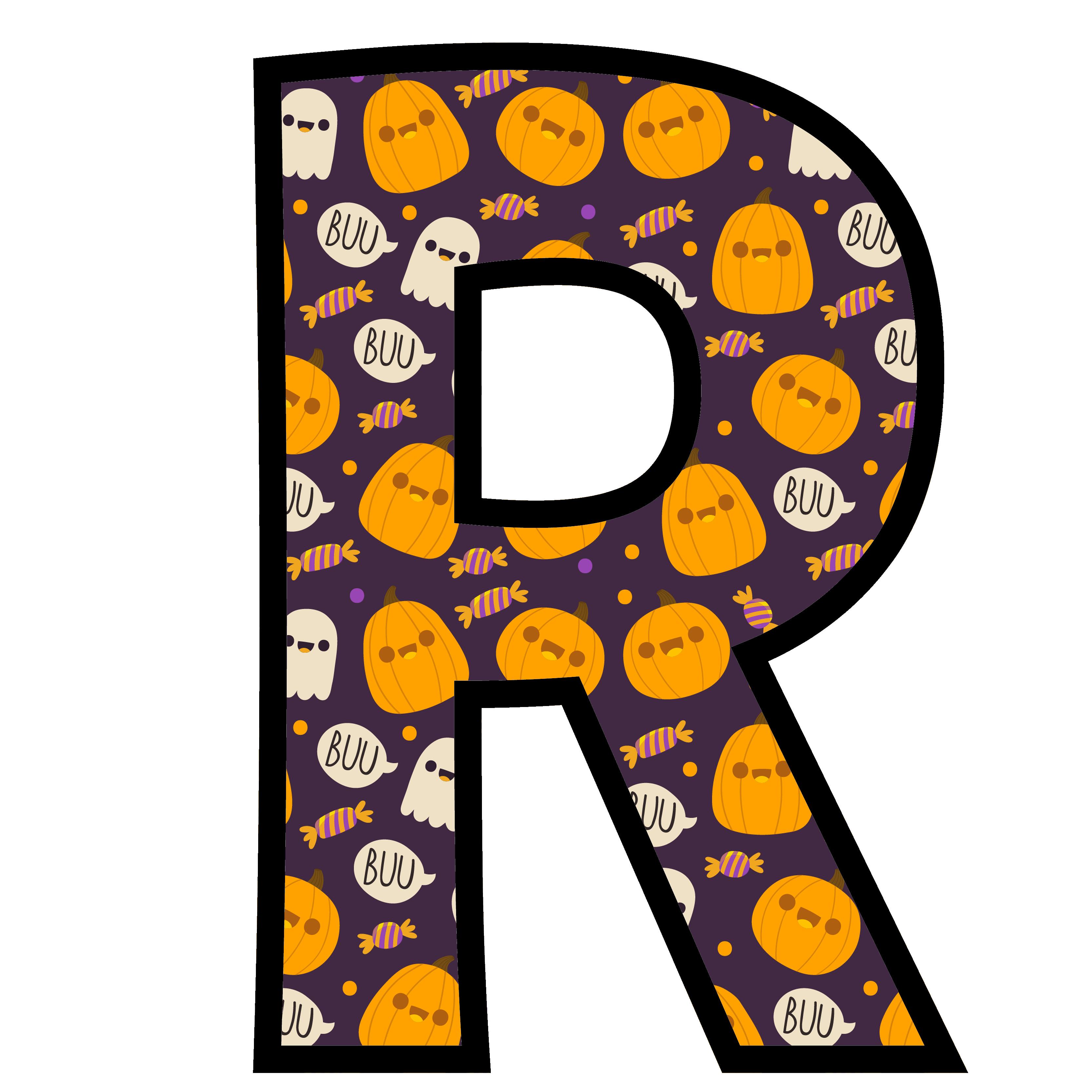 alfabeto personalizado fantasma halloween 18