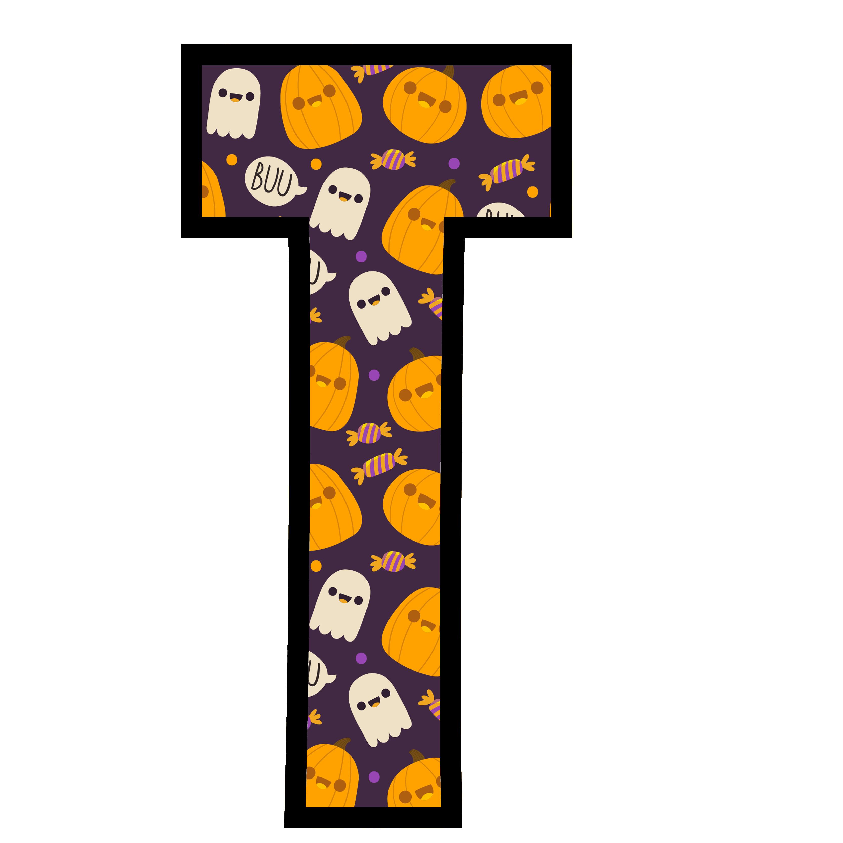 alfabeto personalizado fantasma halloween 20