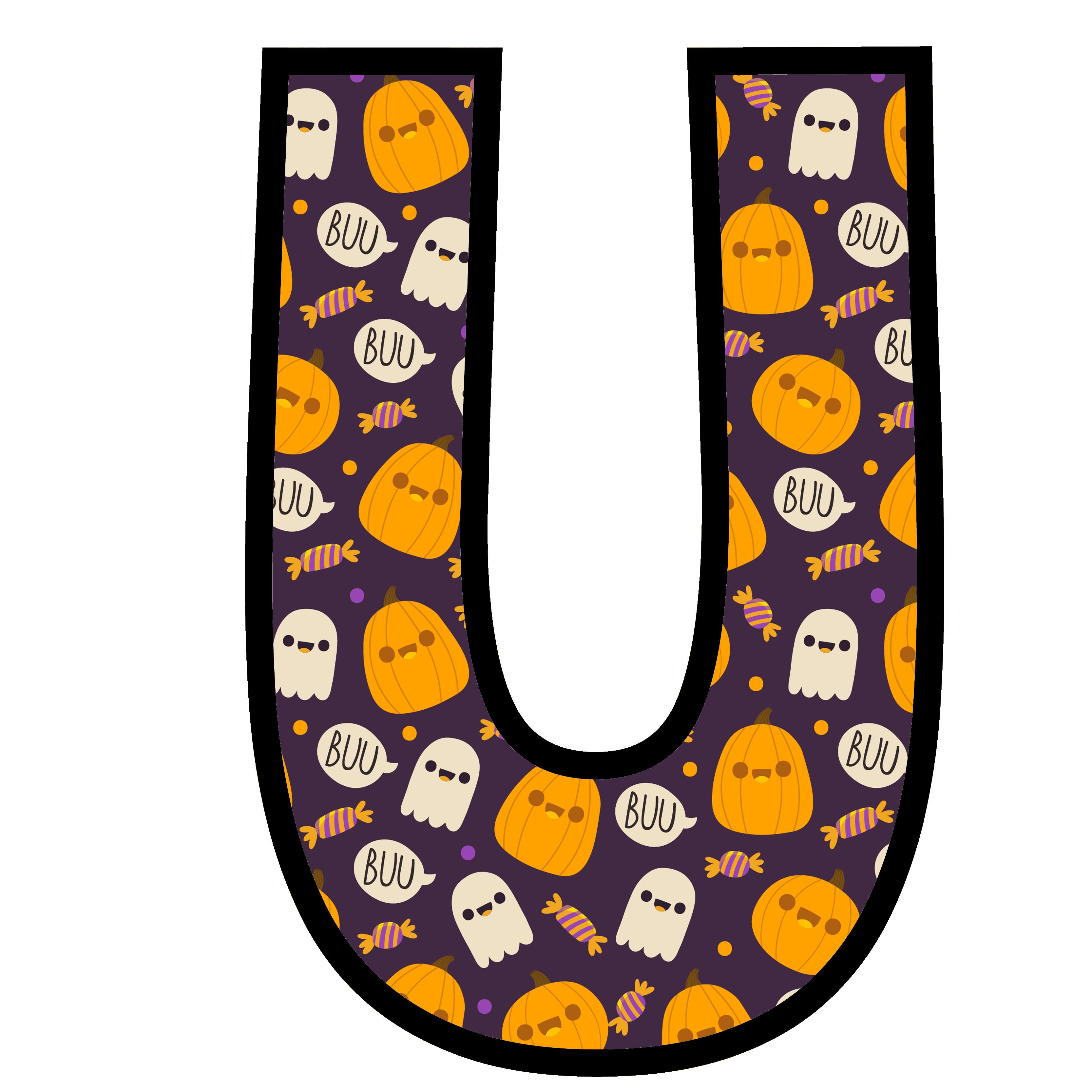 alfabeto personalizado fantasma halloween 21