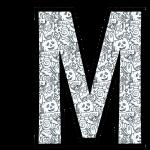 alfabeto personalizado halloween para colorir 13