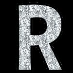 alfabeto personalizado halloween para colorir 18