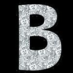alfabeto personalizado halloween para colorir 2