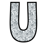 alfabeto personalizado halloween para colorir 21