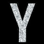 alfabeto personalizado halloween para colorir 25