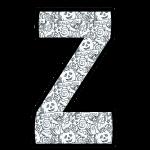 alfabeto personalizado halloween para colorir 26