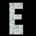 alfabeto personalizado halloween para colorir 5