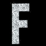 alfabeto personalizado halloween para colorir 6