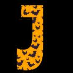 alfabeto personalizado morcegos halloween 10