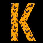 alfabeto personalizado morcegos halloween 11