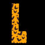 alfabeto personalizado morcegos halloween 12