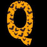 alfabeto personalizado morcegos halloween 17