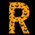 alfabeto personalizado morcegos halloween 18