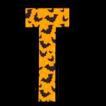alfabeto personalizado morcegos halloween 20