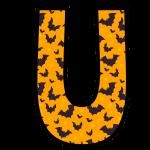 alfabeto personalizado morcegos halloween 21
