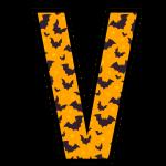 alfabeto personalizado morcegos halloween 22