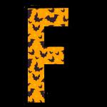 alfabeto personalizado morcegos halloween 6