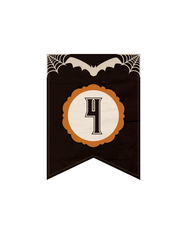 numeros dark halloween 4