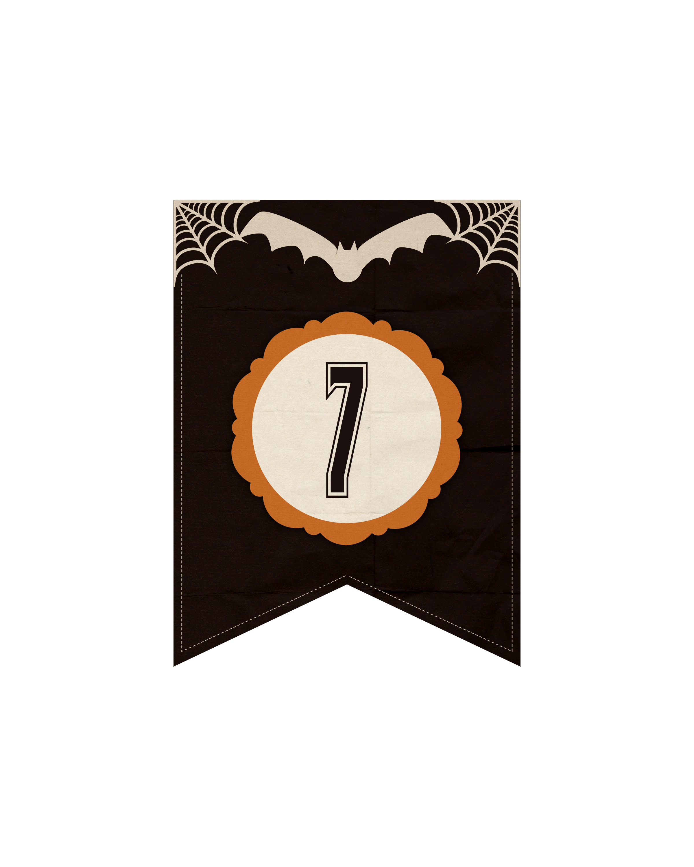 numeros dark halloween 7